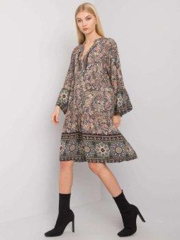 Sukienka-TW-SK-BI-5S0118B.25-khaki [zul]